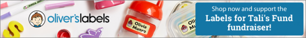 Oliver's Labels Tali's Fund ad.png